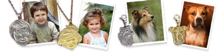 3D photo charms from your design and pictures
